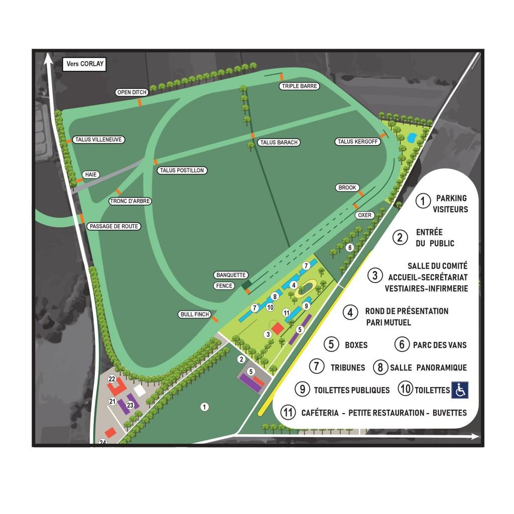 Plan Hippodrome