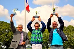 Joseph Garin (à gauche) ,  Jérôme Zuliani, Patrice Quinton