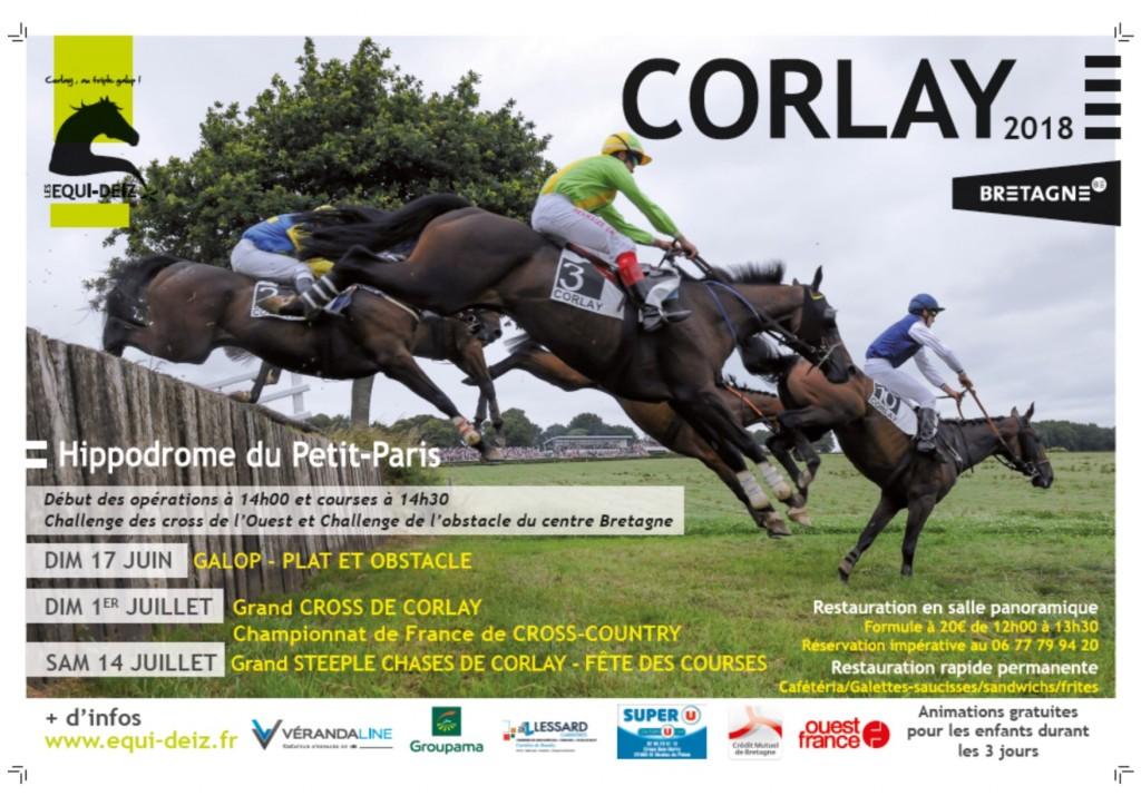 Affiche courses de Corlay 2018
